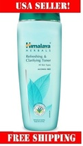 Himalaya Refreshing & Clarifying Toner 100ml control excess oil secretion. - $8.99