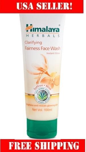 Clarfying fairness face wash