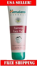 himalaya Fairness Face Pack 100g evens out skin tone for a fairer you!re... - $9.49