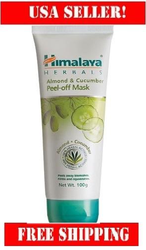Almond cucumber peel off mask