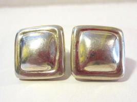 Vintage Mexico sterling silver 925 earrings - $30.00