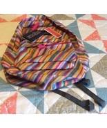Authentic JanSport Classic Superbreak MultiTexture/Color Striped Backpac... - $62.88