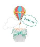 Up, Up & Away Hot Air Balloon Baby Shower Birthday Party Centerpiece Sticks - $8.66
