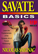 Savate #1 Basics of French Kickboxing DVD French Cup Champion Nicolas Sa... - $21.00