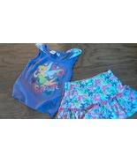 Disney girls 2 piece fairy top and butterflies skirt size 3T - $2.00