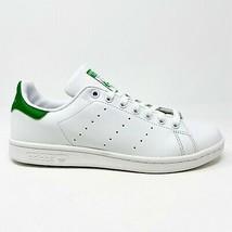 Adidas Originals Stan Smith White Green Junior Size 6.5 Sneakers M20605 - $59.95