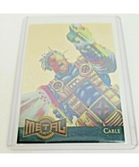 1995 Marvel Metal: Gold Blaster Cable Limited Edition Insert (#1 of 18) - $165.00