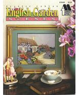 RARE~ANNIE'S~ENGLISH GARDEN SCENES~PLASTIC CANVAS - £15.45 GBP