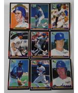 1985 Donruss Leaf Los Angeles Dodgers Team Set of 9 Baseball Cards - $6.00