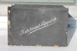 "Antique Authentic German Doctors Medical Tools Equipment ""Holsbrand-Appa... - $132.76"