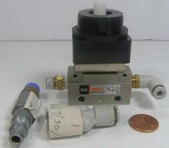 SMC VM13 Pneumatic Switch Valve   Missing knob - $14.99
