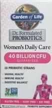 Garden of Life Women's Probiotics Daily Care  40 Billion CFU 30 Capsules - $19.25