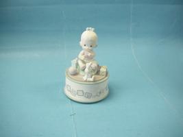 "The Enesco Precious Moments Collection ""Toyland"" 1991 Musical Box - $35.99"
