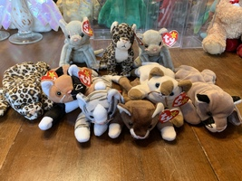 Beanie Baby CATS! Freckles, Chip, Snip, Prance, Pounce, Canyon, Scat, Sn... - $40.00