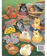 CRITTER COASTERS~PLASTIC CANVAS LEAFLET - £9.42 GBP