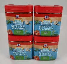 Lot Of 4 McCormick Good Morning Breakfast Seasoning Garden Herb Best By Feb 2019 - $29.69