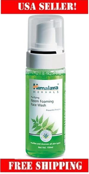 Purifying neem foaming face wash