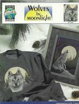 Cross Stitch Pattern-Wolves by Moonlight by Designer S. M. Casper - $5.86