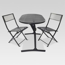 3 Piece Folding Bistro Balcony Patio Dining Set - $164.47