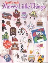 MERRY LITTLE THINGS~ TNS~ PLASTIC CANVAS LEAFLET - $9.99