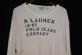 2XL R. Lauren 19-67 Polo Jeans Company Ribbed Long Sleeve Shirt - $19.75