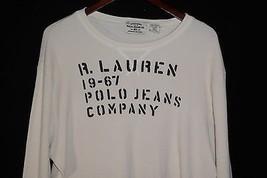 2XL R. Lauren 19-67 Polo Jeans Company Ribbed Long Sleeve Shirt - $19.75