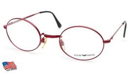 Emporio Armani 012 846 Red Eyeglasses Frame 50-24-140 B40 (Display Model) - $74.24
