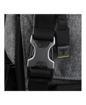 """UNDER ARMOUR UA PROJECT ROCK REGIMENT BACKPACK """"THE ROCK"""" BLACK/GREY NEW W/TAGS image 4"""