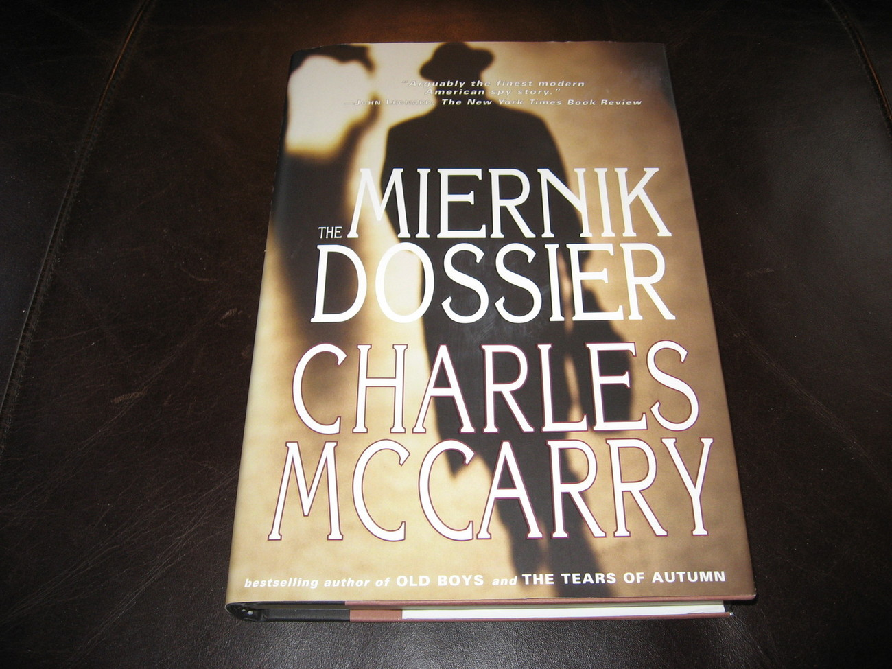 THE MIERNIK DOSSIER by CHARLES McCARRY * BRAND NEW HC & DJ + 2 FREE BOOKS *