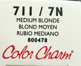 Wella Color Charm Conditioning Permanent Gel Haircolor-711/7N Med Blonde - $8.59