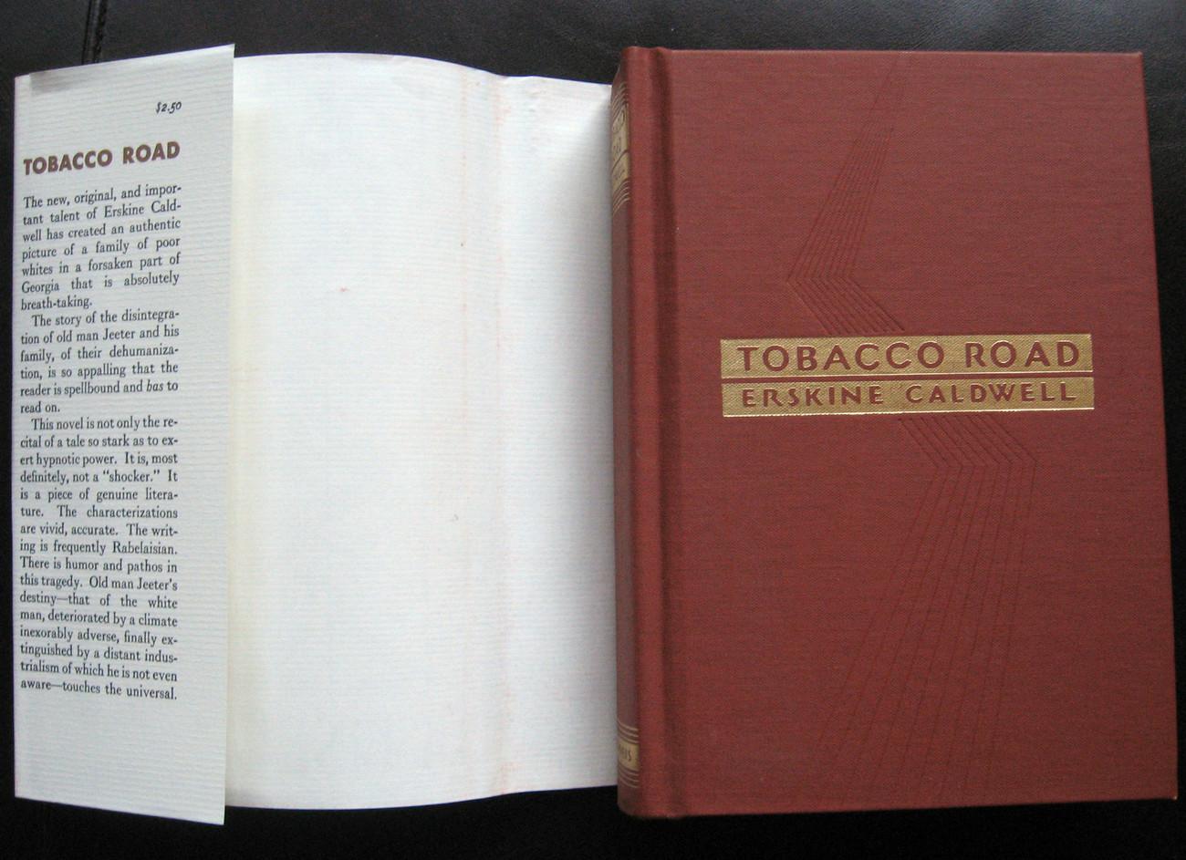 TOBACCO ROAD by ERSKINE CALDWELL * HC & DJ * BRAND NEW * + CLAUDELLE INGLISH
