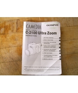 Olympus C-2100 digit camera English instruction... - $3.00