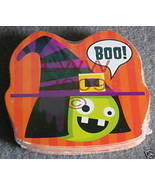 Odd-shaped Boo Witch Halloween playing cards NEW - $3.99