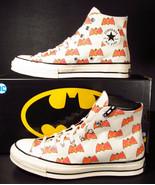 Converse DC Comics Batman 80th Anniversary Chuck 70 HI Classic Logo 1673... - $85.00