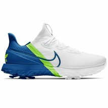 Nike Air Zoom Infinity Tour Golf Shoes White / Blue Very Limited Multipl... - $219.00