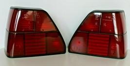 Tail Lights VW Mk2 Hella All Red TInted Set OEM Custom 1981-1991 - $186.12