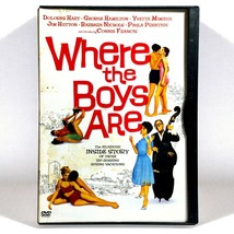 Where the Boys Are (DVD, 1960, Widescreen)   Connie Francis   George Pep... - $11.28