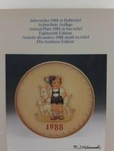 Goebel Hummel  1988 18th Annual Plate - $9.22