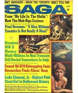 SAGA July 1973 - UNIDENTIFIED FLYING OBJECTS, PAUL NEWMAN, BAHAMA BLUE H... - $31.49