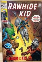 RAWHIDE KID #78 (1970) Marvel Comics VG+ - $9.89