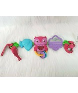 Bright Starts Take Along Baby Musical Carrier Activity Toy Bar Owl Bird ... - $14.97