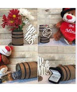 WOODEN BARREL / Miniature Barrel - 5 Inches Tall / Weddings / Model Rail... - $34.00