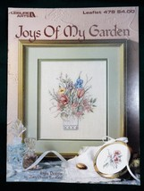 Joys of My Garden Cross Stitch Pattern Booklet Leisure Arts 478 - $3.95