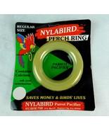 "Nylabone Nylabird Perch Ring Toy Parrot Pacifier Regular Size 3 1/2"" N-2... - $4.99"
