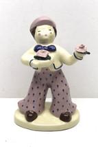 "Vintage 1940s Kim Ward Hollywood CA 8"" Glazed Ceramic #45 French Suitor ... - $37.39"
