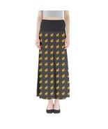 Women's Deer Printed Summer Stretchy Boho Full Length Maxi Skirt (XS-3XL... - $28.99+