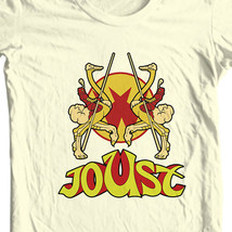 Joust T-shirt retro 1980's arcade game vintage video games cotton graphic tee image 1