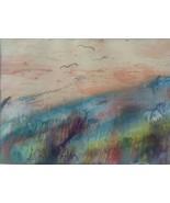 Rare Hand Signed Aldo Abir Mixed Media Art Painting URUGUAY South America - $126.21