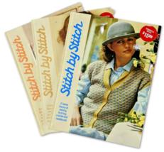 Stitch by Stitch Books Sewing Needlecraft Vintage 1984 Hardcovers Volume... - $3.59