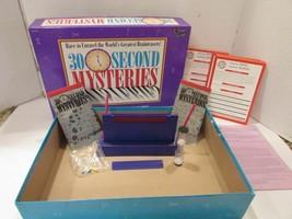 VTG 30 SECOND MYSTERIES #1410 UNIVERSITY GAMES 1995 BRAINTEASER GAME  - $8.77